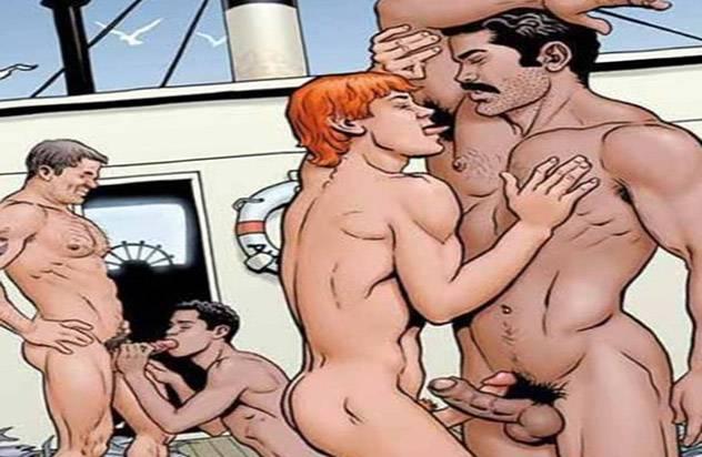 Гей комиксы