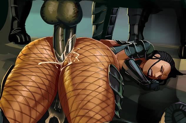 Порно с инопланетянами